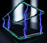 Магнитный металл чехол FULL GLASS 360° для Samsung Galaxy A71, фото 6