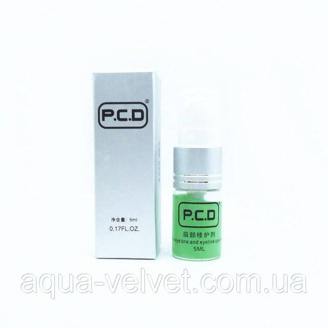 Заживляющий постпроцедурный крем PCD для бровей