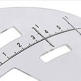 Пластиковый трафарет для симметрии, фото 2
