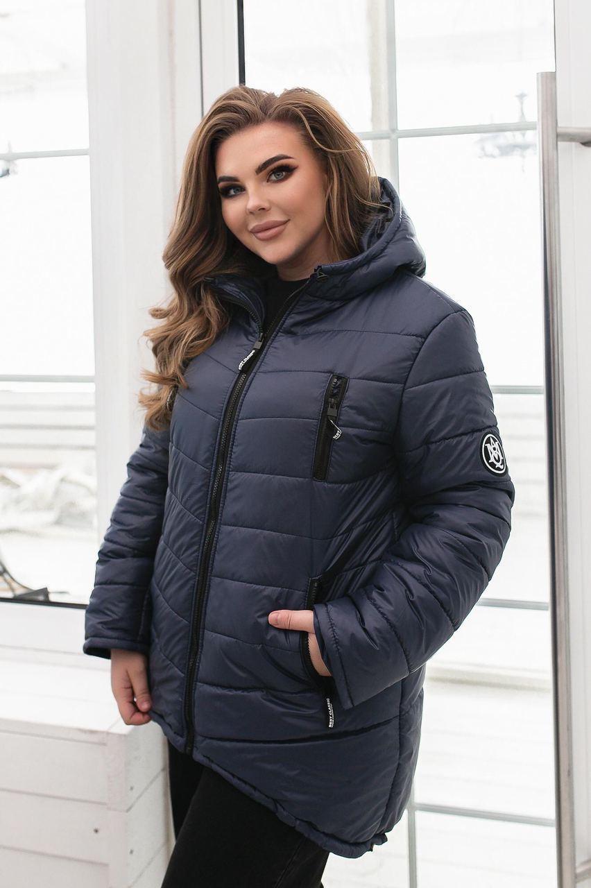 Куртка женская, арт. 300, цвет: т.серый