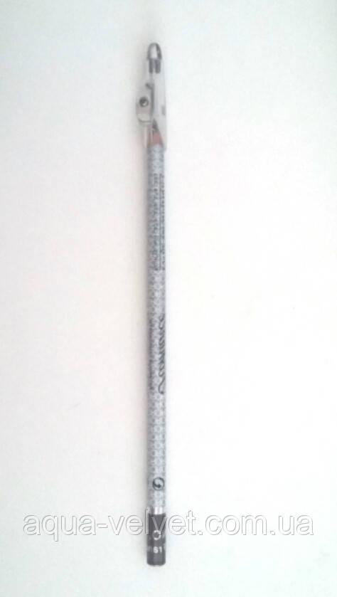 Карандаш коричневый с точилкой для прорисовки эскиза