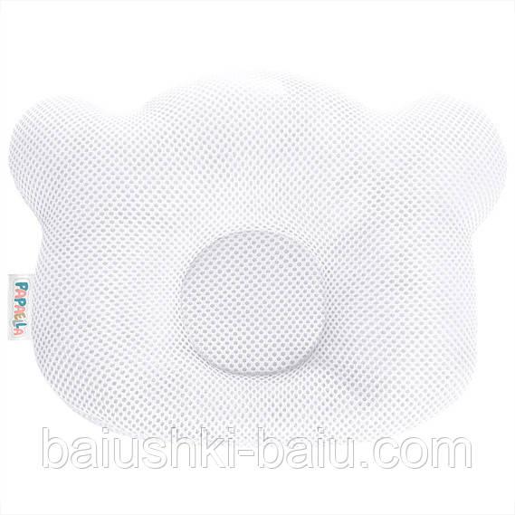 Подушка ортопедическая для новорожденного + наволочка