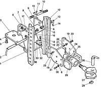 Группа 27. Тягово-сцепное устройство Подгруппа 2707. Тягово-сцепное устройство (варианты комплектации)