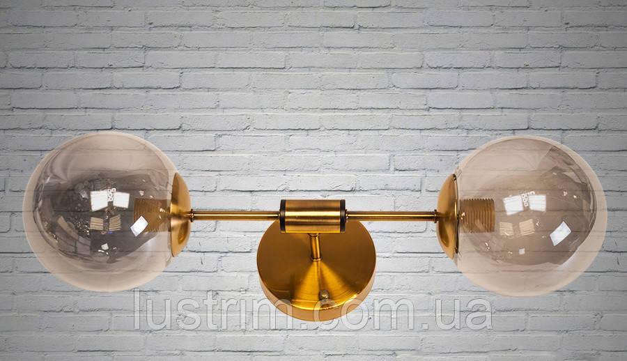Светильник лофт на 2 лампы