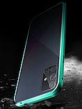 Магнитный металл чехол FULL GLASS 360° для Samsung Galaxy A71, фото 9
