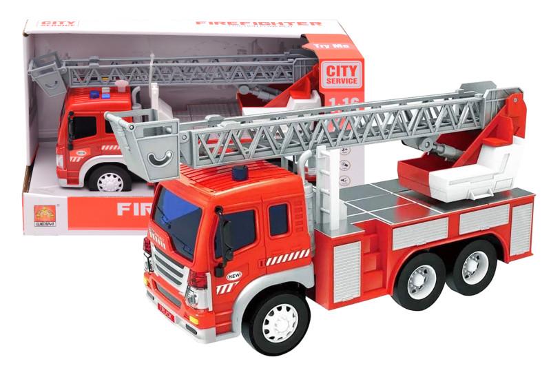 Пожарная машина WY350В, масштаб 1:16, муз. свет