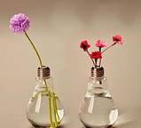Стеклянный стакан-бутылка Лампочка 200 мл, фото 6