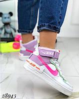Зимние спортивные кроссовки Nike кожа