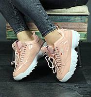 Женские Кроссовки Fila Disruptor II Sneakers Pink