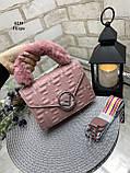 Клатч из искусственной кожи качества люкс арт.0239, фото 4
