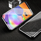 Магнитный металл чехол FULL GLASS 360° для Samsung Galaxy M31, фото 7