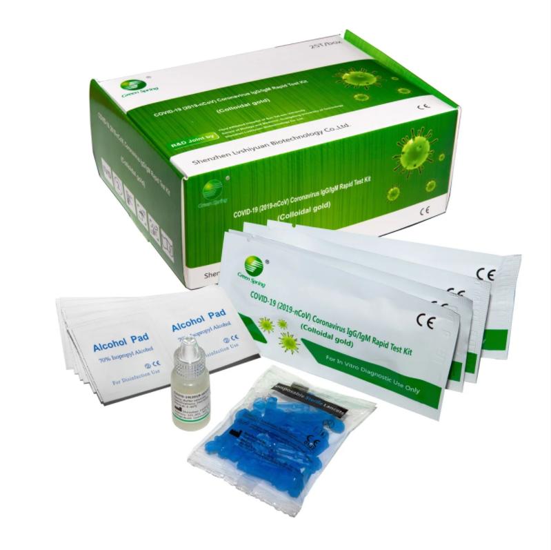 COVID19 Экспресс тест на выявление антител IGG / IGM (Коронавирус быстрый тест)