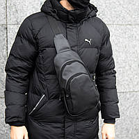 Мужская сумка на грудь Ferrari Bazer слинг, фото 1