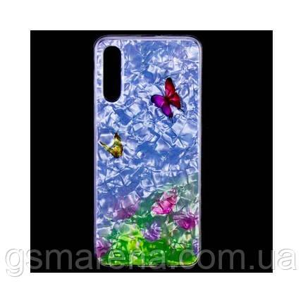 Чехол силиконовый Garden Samsung A70 (2019) A705 бабочки, фото 2