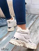 Зимние спортивные кроссовки на липучках фирмы Башили