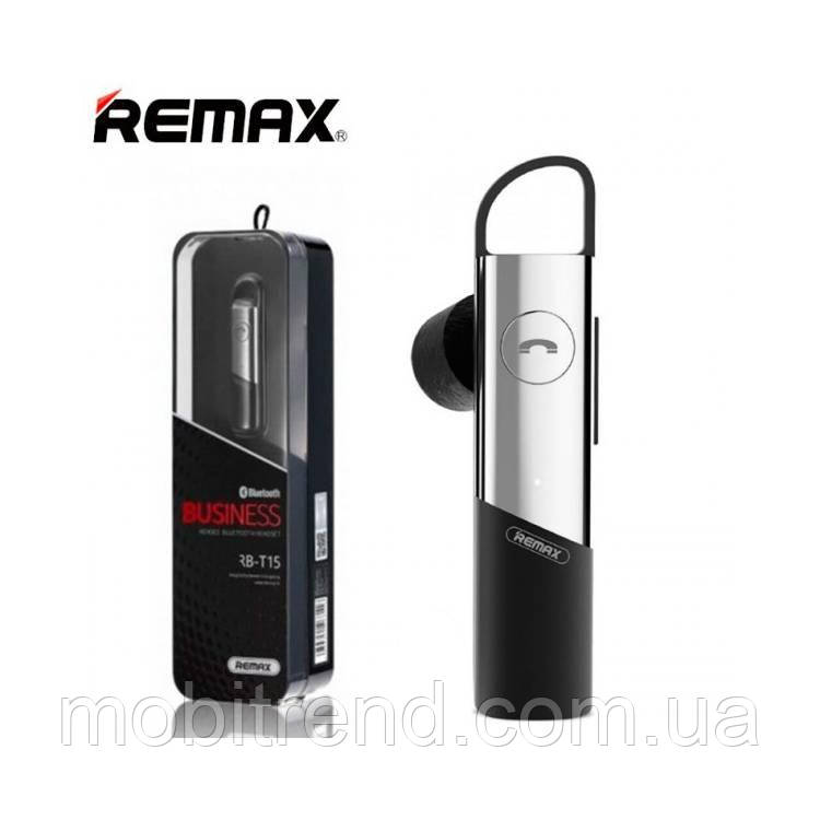 Bluetooth гарнитура Remax RB-T15 Серый