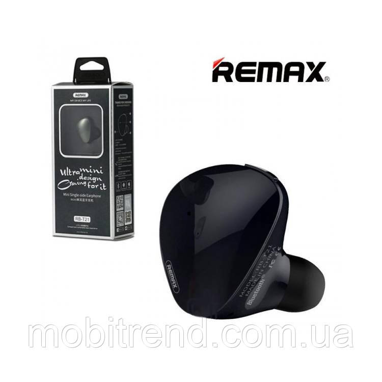 Bluetooth гарнитура Remax RB-T21 Черный