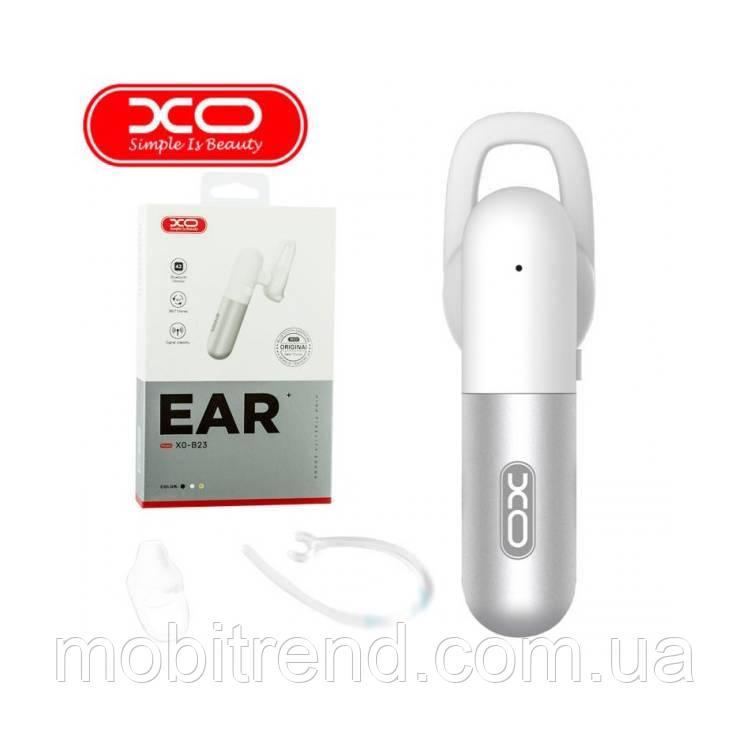 Bluetooth гарнитура XO Mono B23 Белый