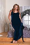 Велюровая пижама женская Тройка Размер 52 54 56 58 60 62 В наличии 4 цвета, фото 2