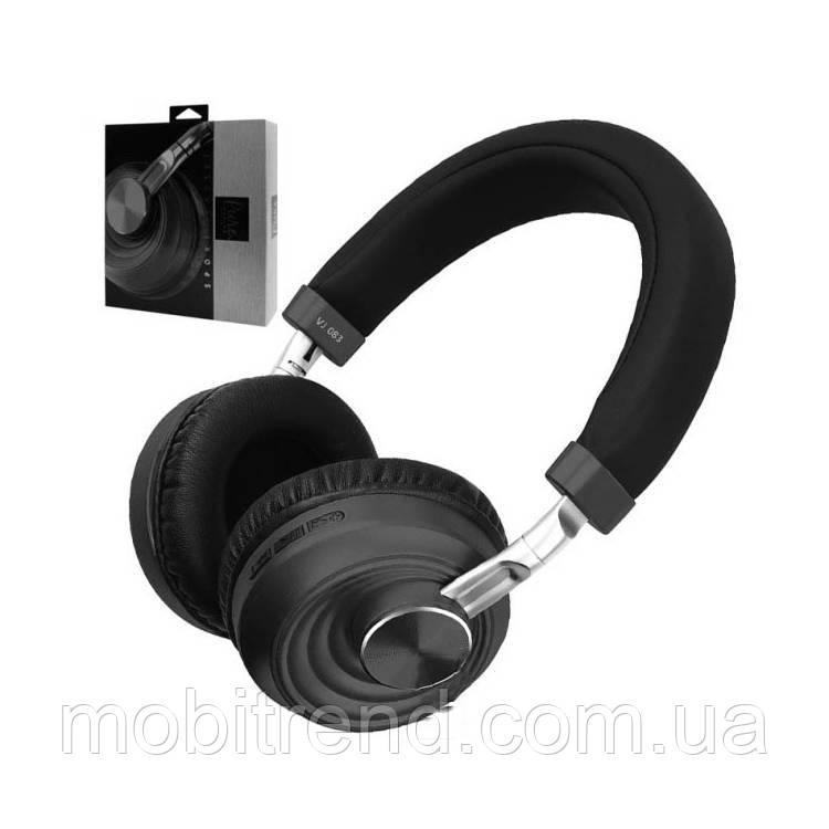 Bluetooth наушники с микрофоном VJ083 Черный