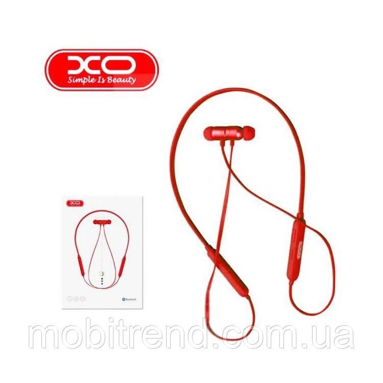 Bluetooth наушники с микрофоном XO BS10 Красный