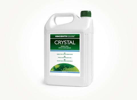 Раствор натрия для влагостойкости бетонных изделий, Crystal, 7 kg., Vincents Polyline