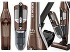 Беспроводной пылесос вертикальный+ручной Bosch BCH3K210 Flexxo Brown, фото 3