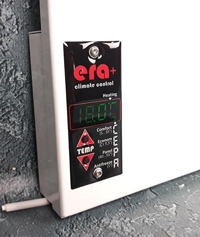 характеристики и преимущества инфракрасного обогревателя ERA+ 4LTSWRE 400