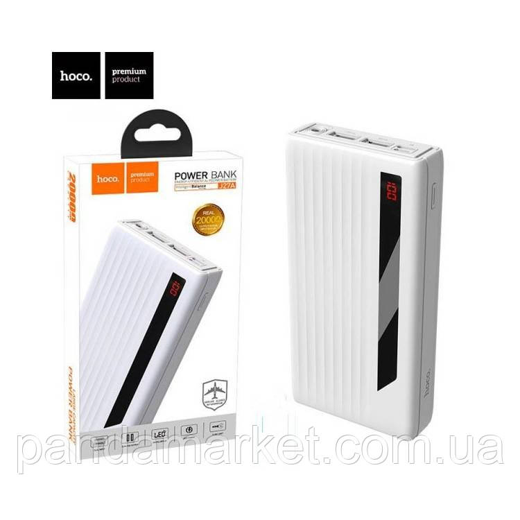 Внешние аккумулятор Power Bank Hoco J27A Wide Energy 20000mAh Оригинал Белый
