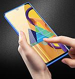 Магнитный металл чехол FULL GLASS 360° для Samsung Galaxy M31, фото 9