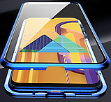 Магнитный металл чехол FULL GLASS 360° для Samsung Galaxy M31, фото 10