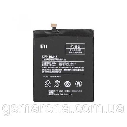 Аккумулятор Xiaomi Redmi BM48 4070mAh Redmi Note 2 Оригинал, фото 2