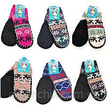Шерстяные носки детские на резиновой подошве 27-31 (14 см)