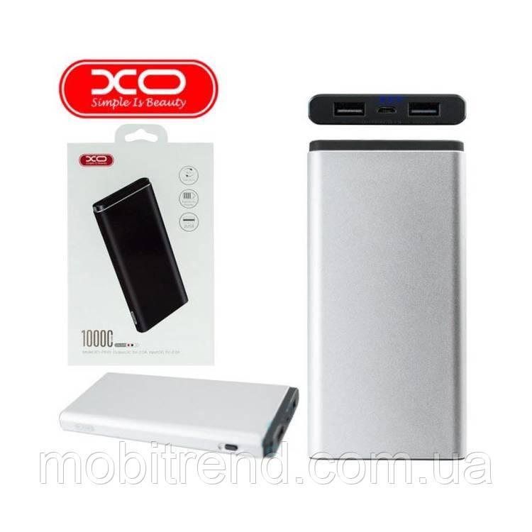Внешние аккумулятор Power Bank XO PB40 10000mAh Серый