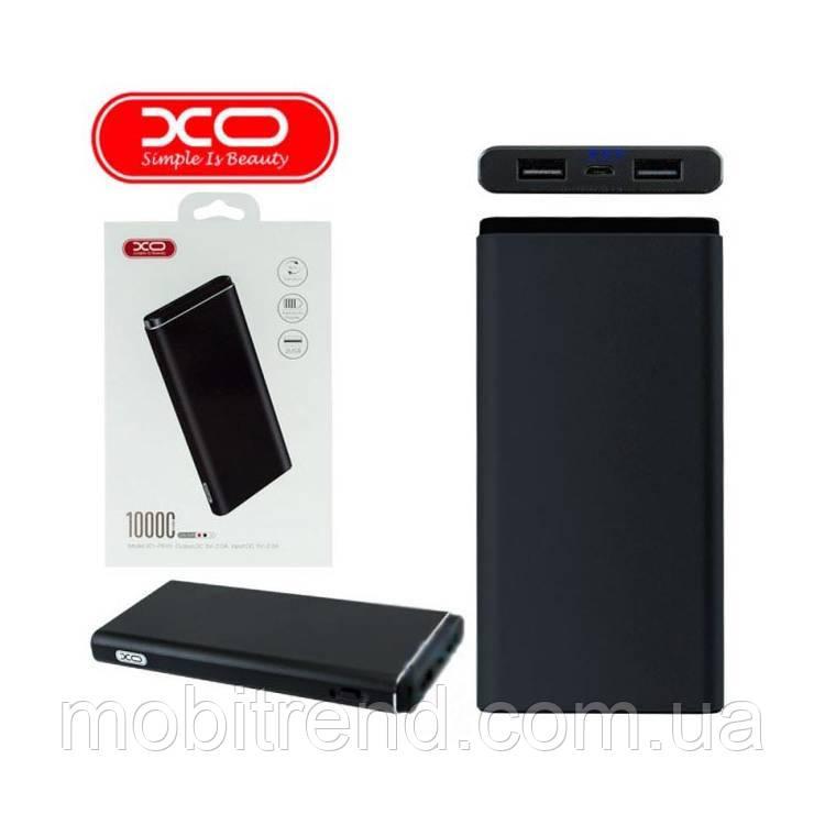 Внешние аккумулятор Power Bank XO PB40 10000mAh Черный