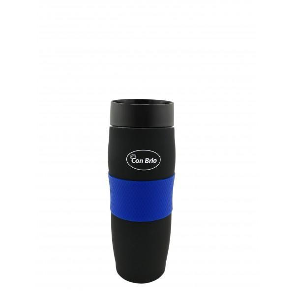 Термокружка Con Brio CB-366 синий матовый