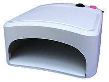 УФ лампа для наращивания ногтей на 36 Вт с таймером на 2 мин, 3 лампочки по 12 вт.