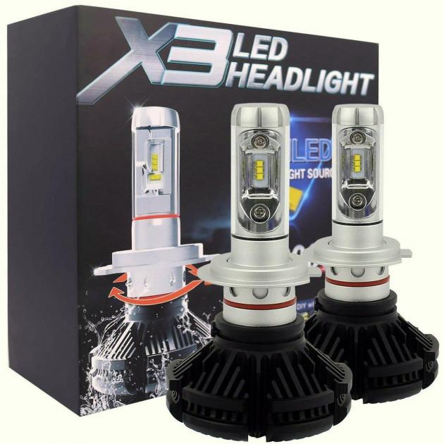 Автолампы HeadLight X3 H11 LED
