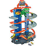 Гараж Хот Вилс с динозавром Т-Рексом, Ultimate Garage T-Rex, Hot Wheels (GJL14), фото 2