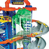 Гараж Хот Вилс с динозавром Т-Рексом, Ultimate Garage T-Rex, Hot Wheels (GJL14), фото 4