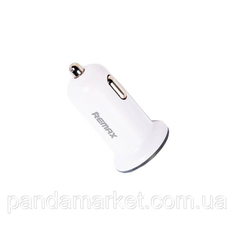 Автомобильное зарядное устройство Remax RCC101 2.1A (1USB) Белый