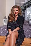 Красивый велюровый халат женский Размер 52 54 56 58 60 62 64 66  В наличии 4 цвета, фото 2