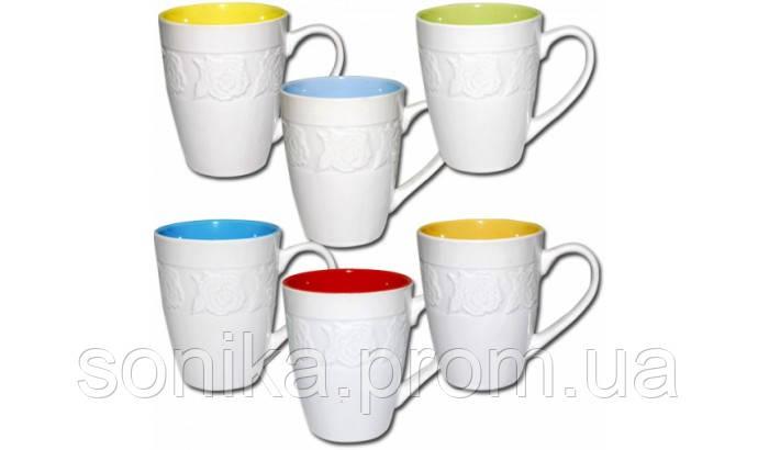 Чашка керамічна S&T 350мл 4173