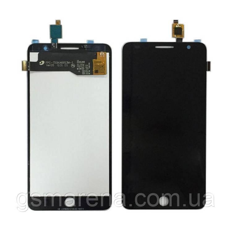 Дисплей модуль Alcatel OT5022 Черный