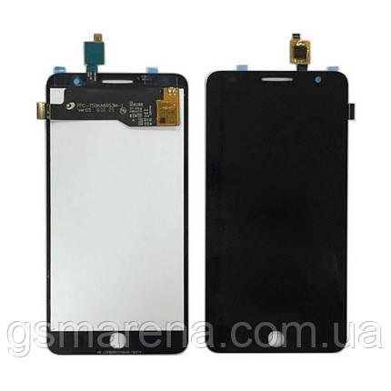 Дисплей модуль Alcatel OT5022 Черный, фото 2