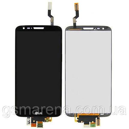 Дисплей модуль LG G2 D800, D805, D808, E940, F320 Черный, фото 2