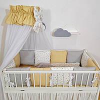 Бортики в дитяче ліжечко ( защита в детскую кроватку)