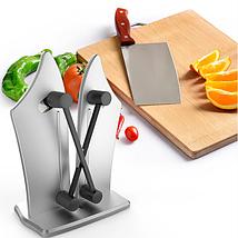 Точилка для кухонных ножей и ножниц Bavarian Edge Knife Sharpener, ножеточка, фото 3