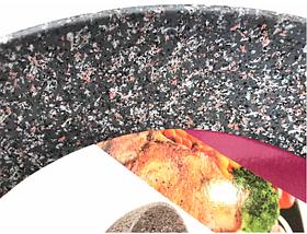 Сковородка Benson с гранитным покрытием Soft Touch 22 см, фото 2