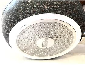Сковородка Benson с гранитным покрытием Soft Touch 22 см, фото 3